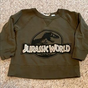 Jurassic World sweatshirt for toddler